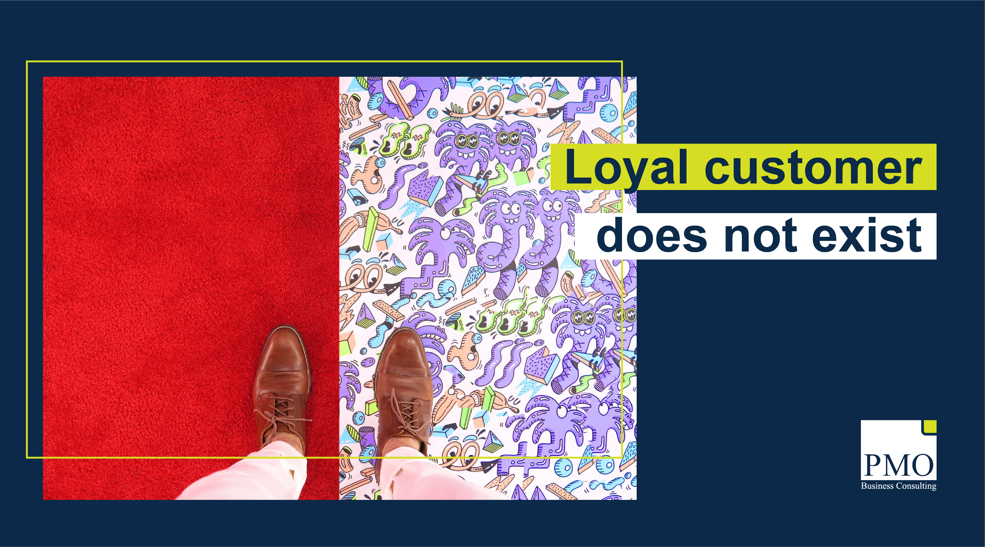 Loyal customers do not exist