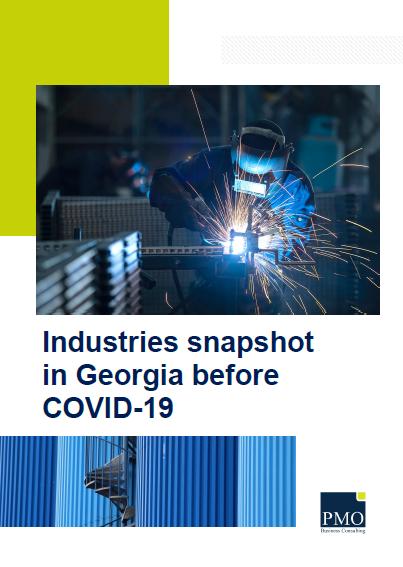 ინდუსტრიების განვითარება საქართველოში COVID-19 კრიზისამდე